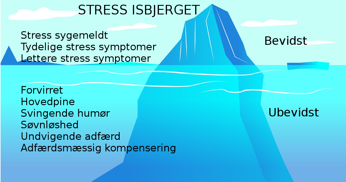 stress isbjerget